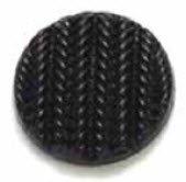 Stockinette Stitch Plastic Shank - Black