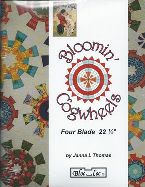 Bloomin Cogwheels w/4 Blade Rulers Set and Book