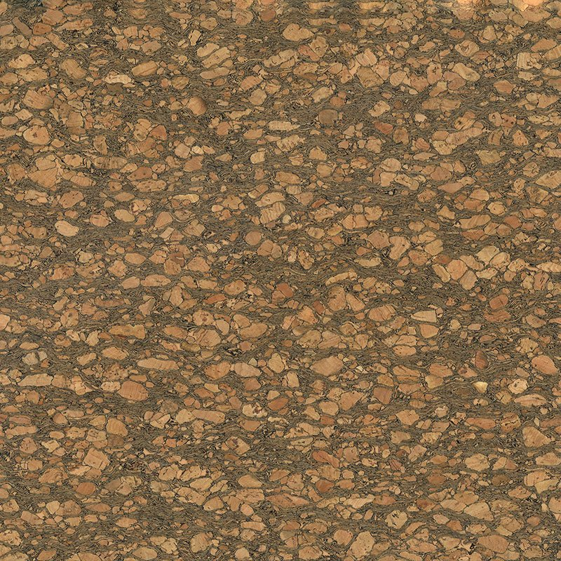 Cork Fabric - Dark Natural (18 x 15)