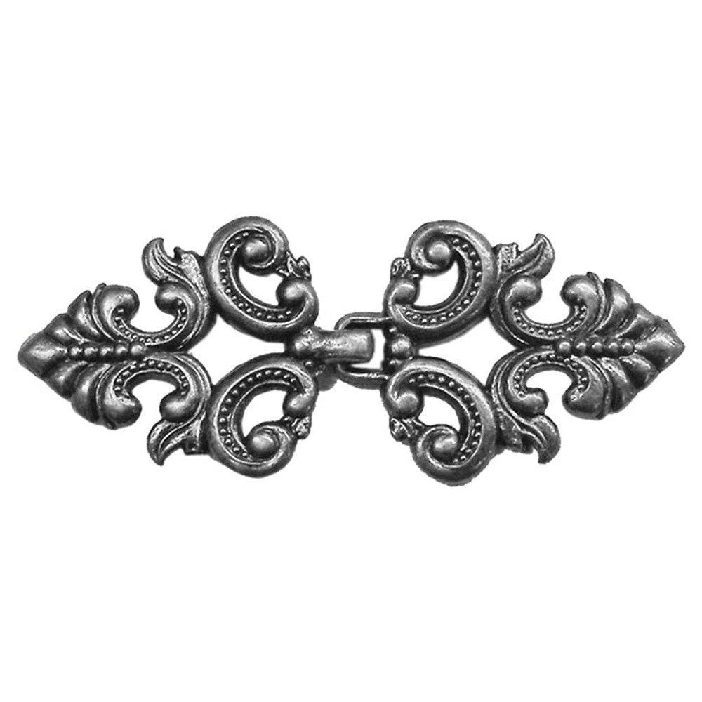 Elan Metal Clasp A - Pewter
