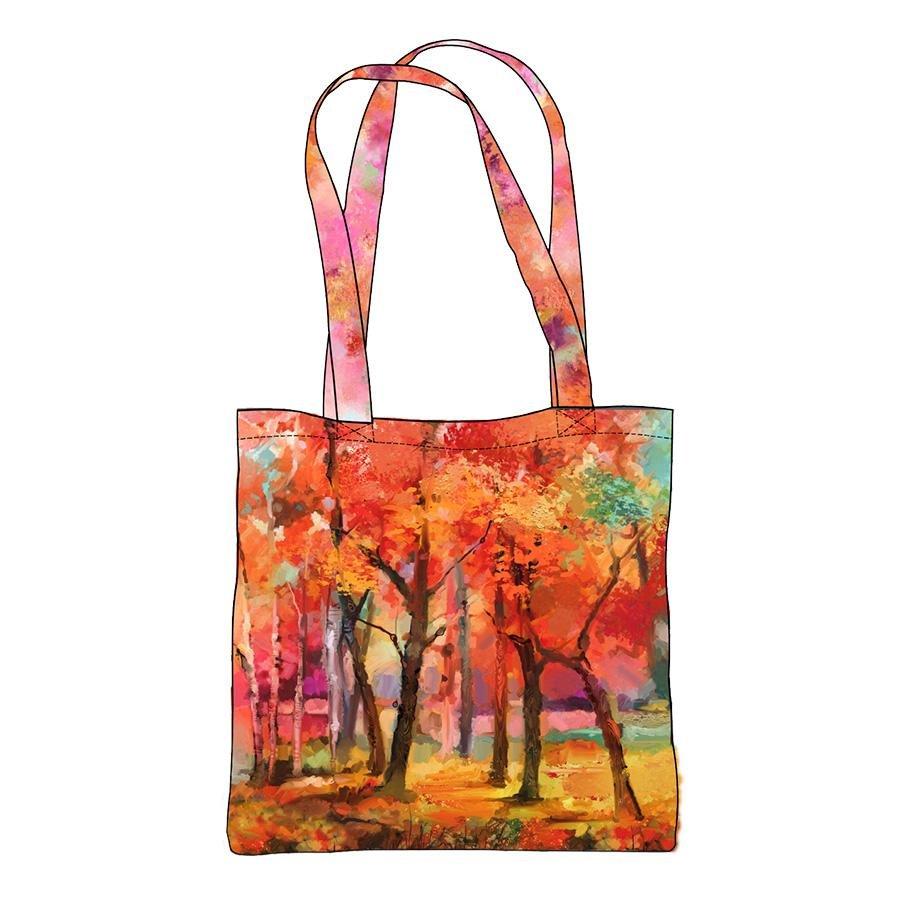 September Morning - Canvas Bag Panel