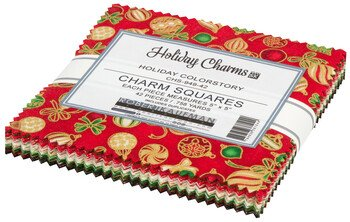 Holiday Charms Charm Squares (42 pcs) - Holiday