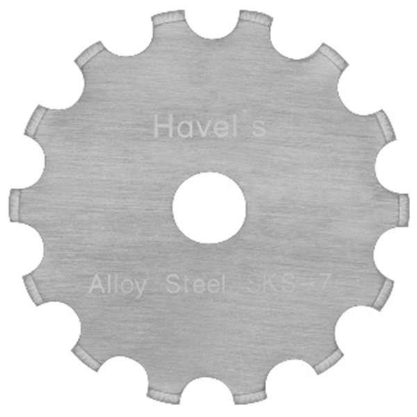 Havel's 45mm Wide Skip Rotary Cutter Blade