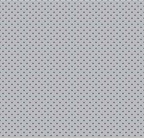 Delilah - Swiss Dot - Gray