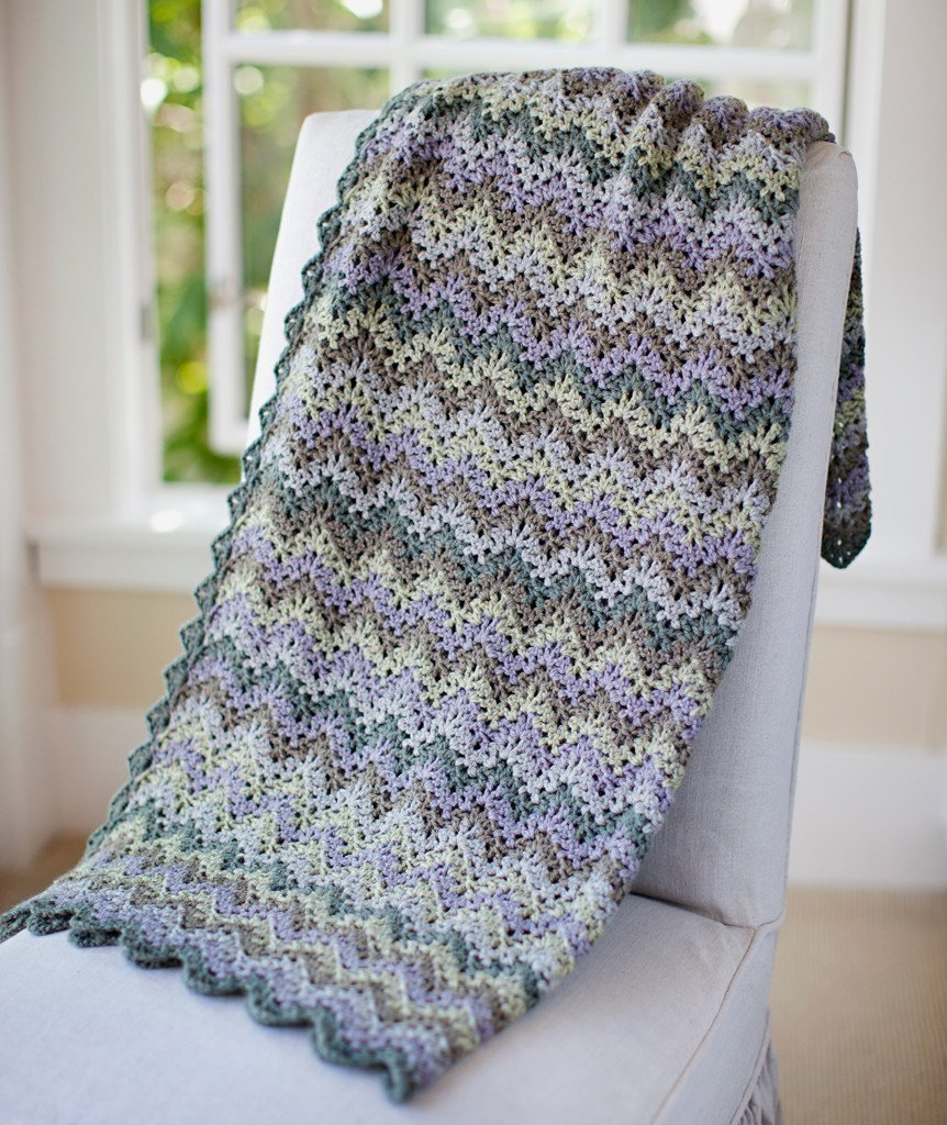 Vintage Crocheted Throw & Afghan