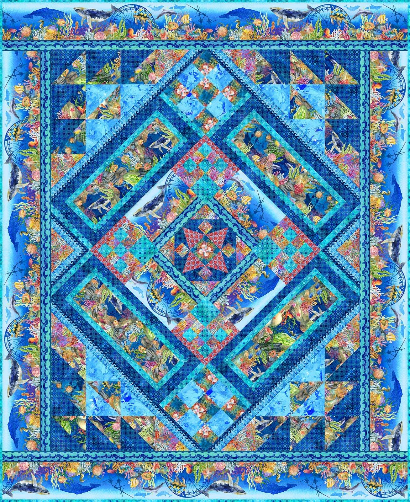 Calypso Quilt Pattern