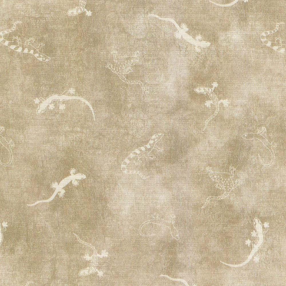 Land-Sea-Sky Tonals - Geckos - Grey/White