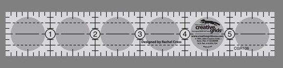 Creative Grids 1 x 6 Ruler