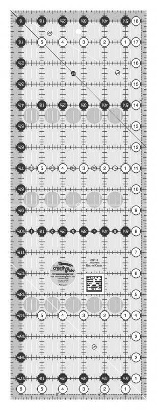 Creative Grids 6.5 x 18.5 Ruler