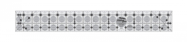 Creative Grids 2.5 x 18.5 Ruler