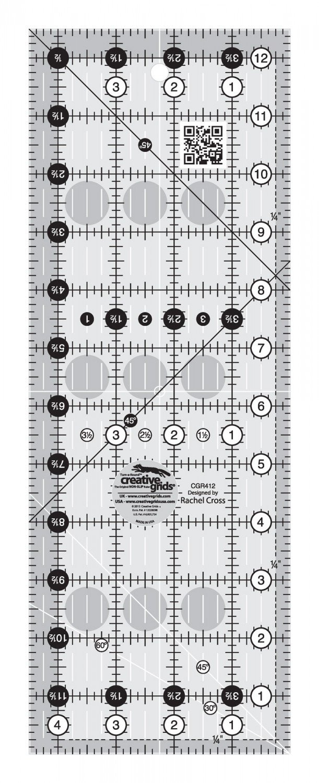 Creative Grids 4.5 x 12.5 Ruler