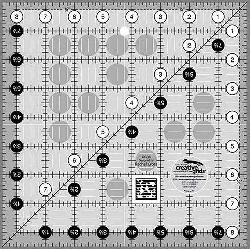 Creative Grids 8.5 Square Ruler