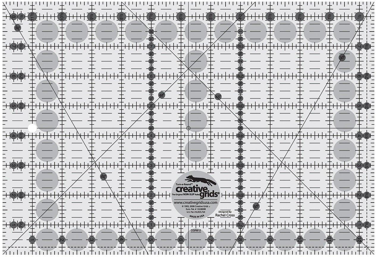 Creative Grids 8.5 x 12.5 Ruler