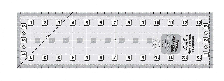 Creative Grids Basic Range - 4 x 14 Ruler
