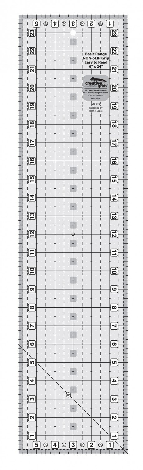 Creative Grids Basic Range - 6 x 24 Ruler