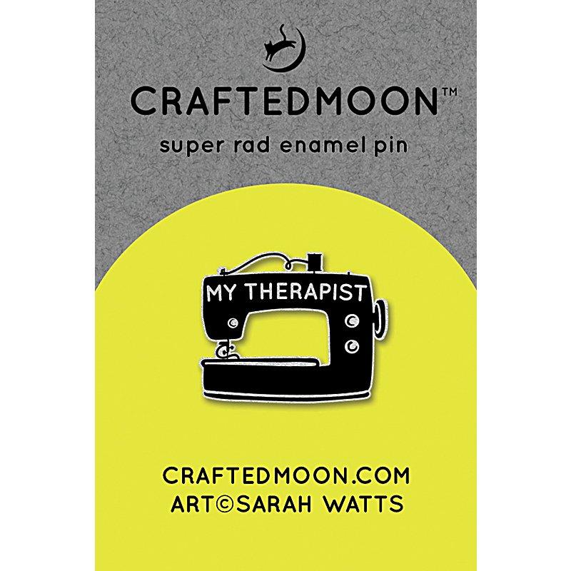 Craftedmoon Enamel Pin - My Therapist