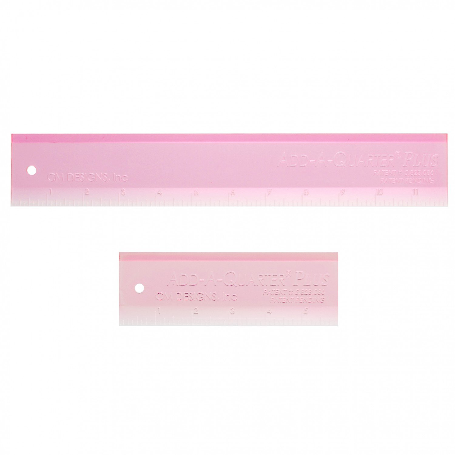 Add-A-Quarter Plus Ruler Combo Pack - Pink