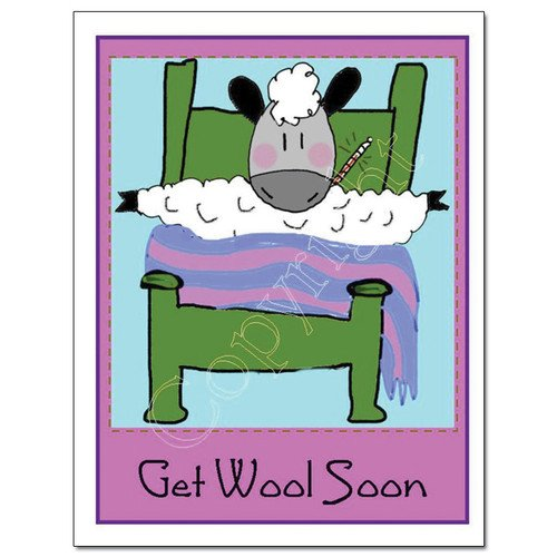Knit Card Series - Get Wool Soon