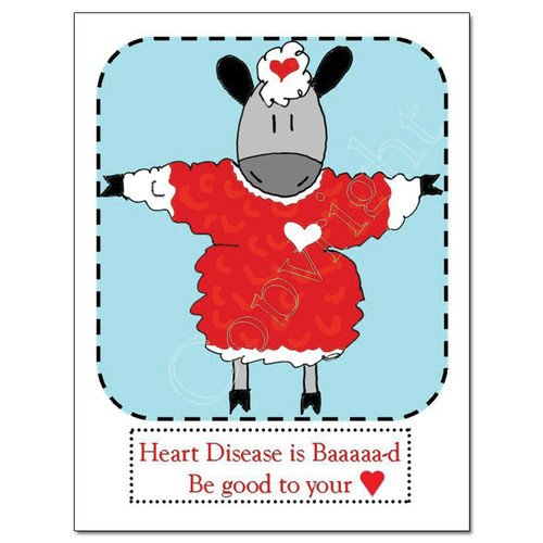 Knit Card Series - Heart
