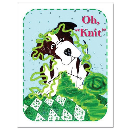 Knit Card Series - Oh Knit