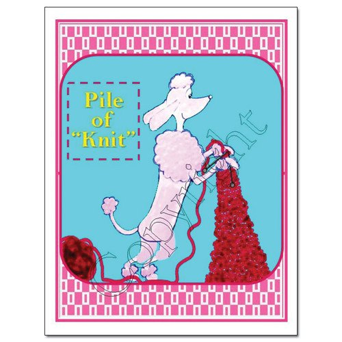 Knit Card Series - Pile of Knit