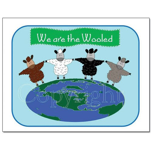 Knit Card Series - We Are the Wooled
