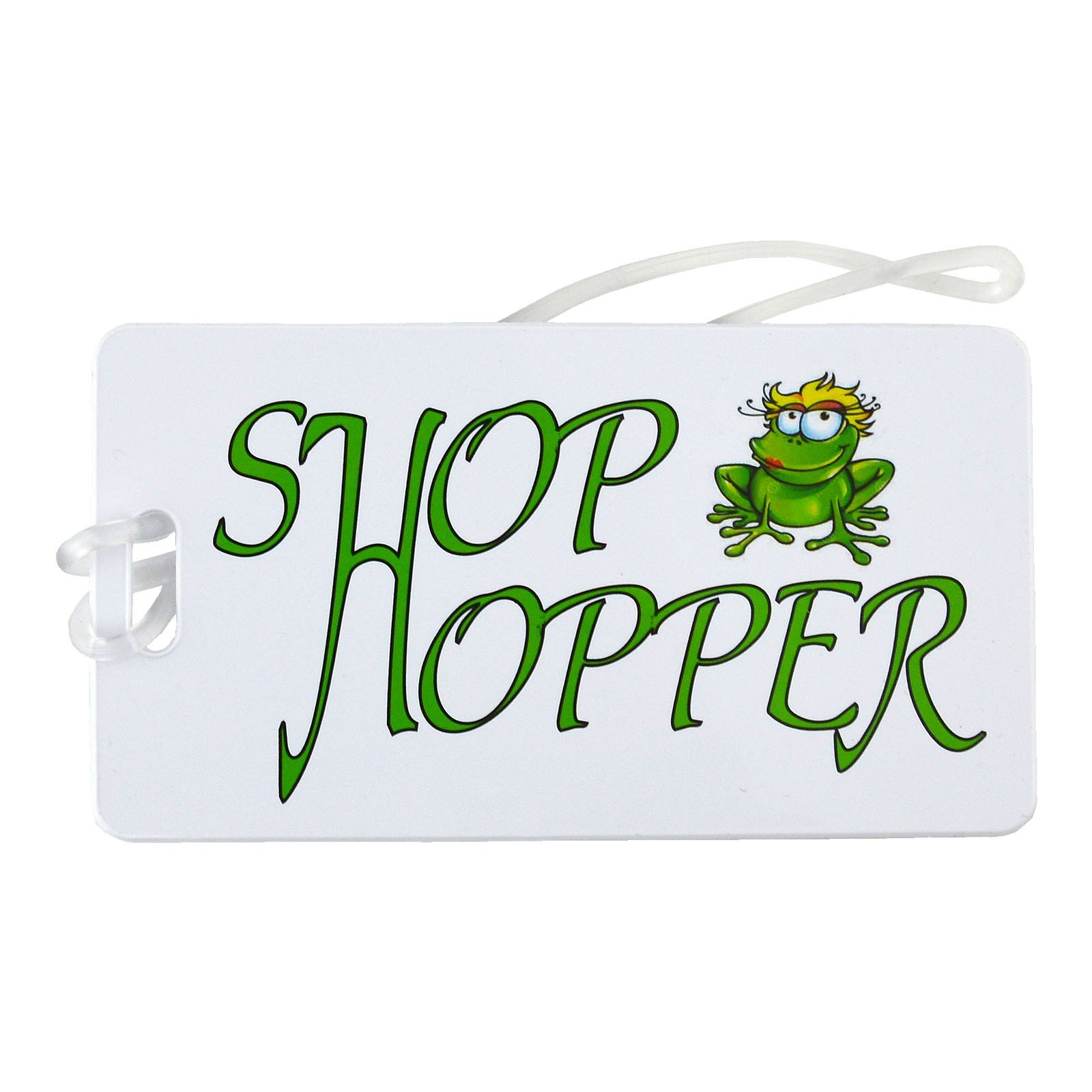 Luggage Tag - Shop Hopper