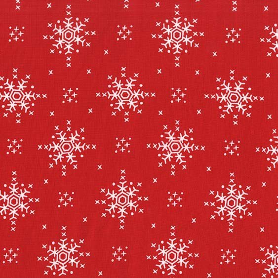 Woodland Winter - Stitch Snowflake - Santa