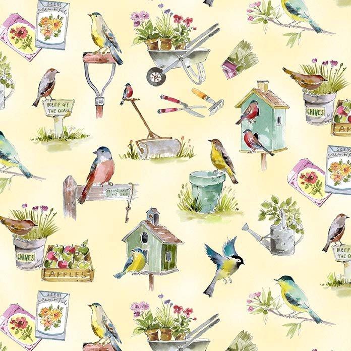 In the Garden - Garden Festival - Cream