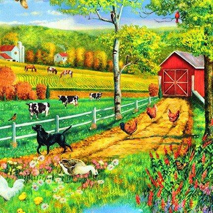 Down on the Farm Digtal - Farm Landscape