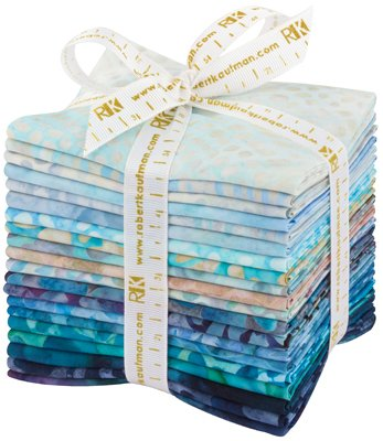 Aqua Spa Fat Quarter Bundle (20 pcs)