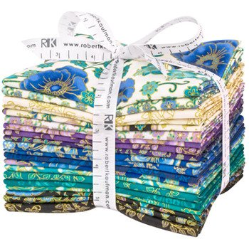 Florentine Garden Fat Quarter Bundle - Jewel (20 pcs)