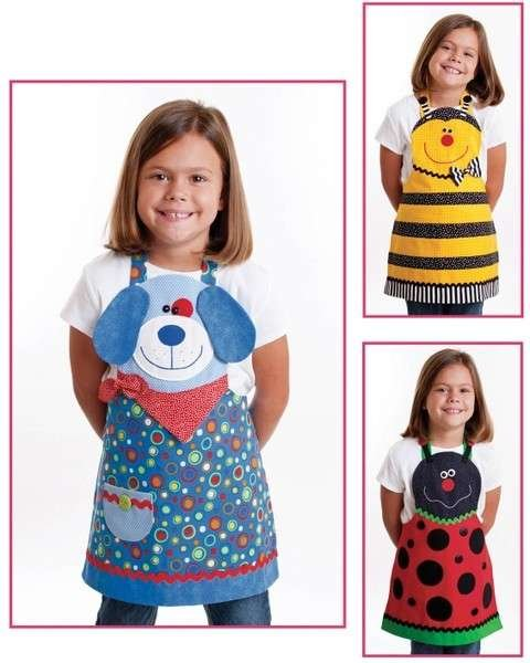 Cute Friends Aprons