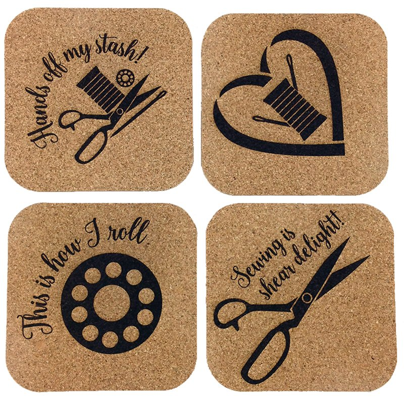 Cork Coasters - Sheer Fun