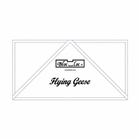 Bloc Loc Flying Geese Ruler - 4 x 8