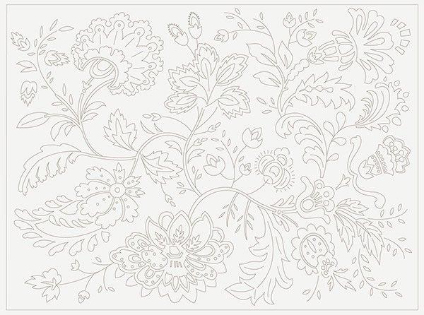 Atelier De France Embroidery Sampler