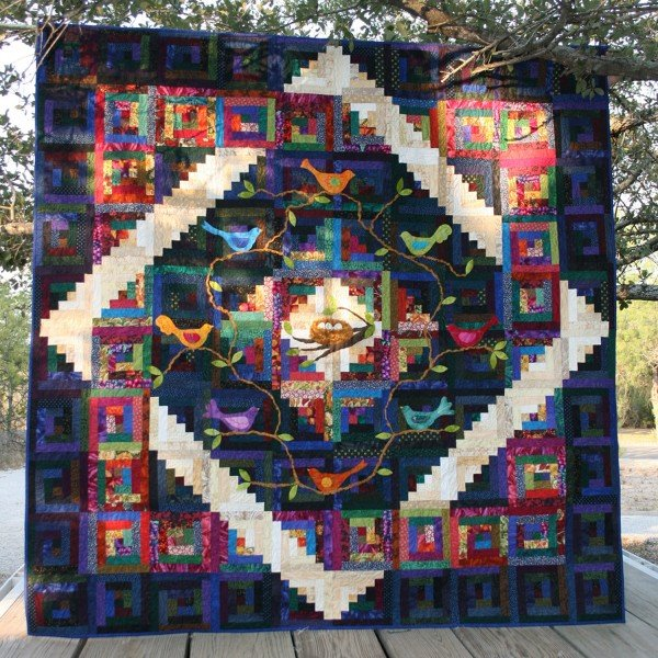GO! Flying Home Quilt