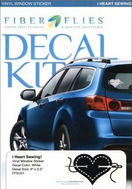 Decal Kit - I Heart Sewing