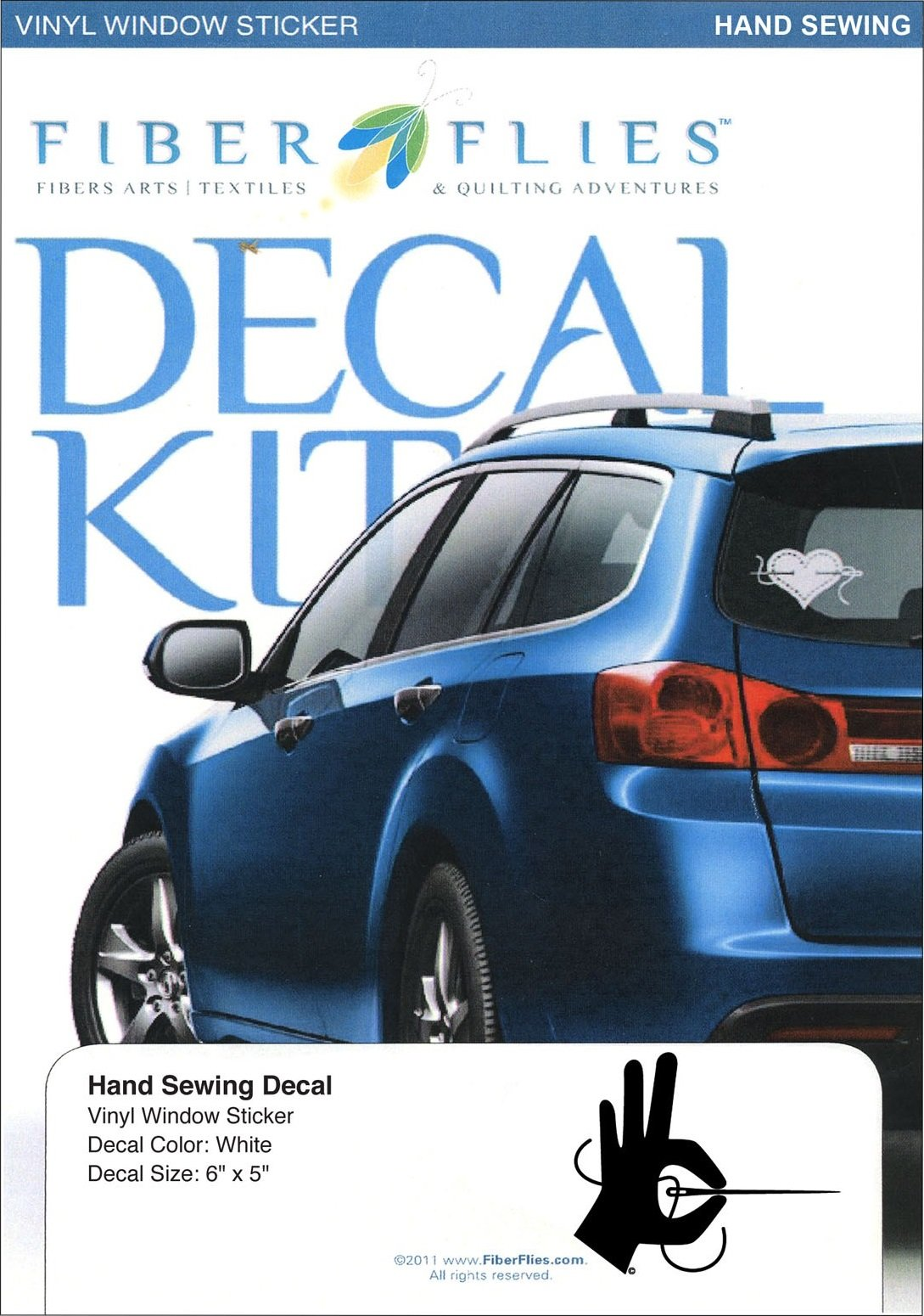 Decal Kit - Hand Sewing