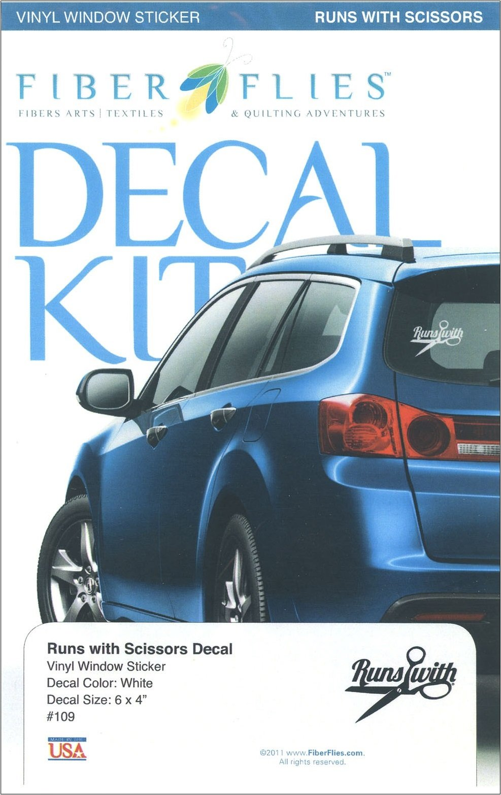Decal Kit - Runs With Scissors