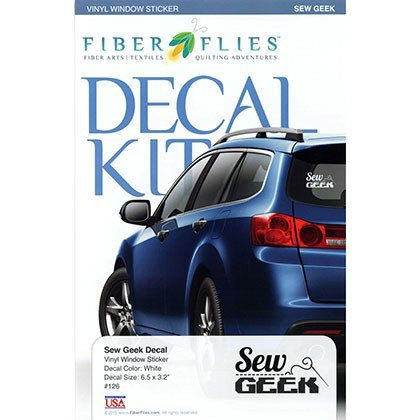 Decal Kit - Sew Geek