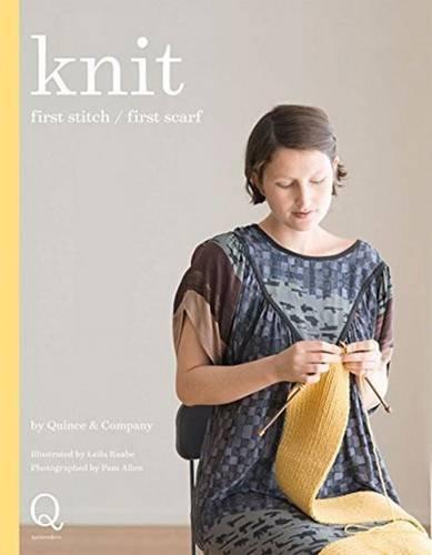 Knit: First Stitch, First Scarf