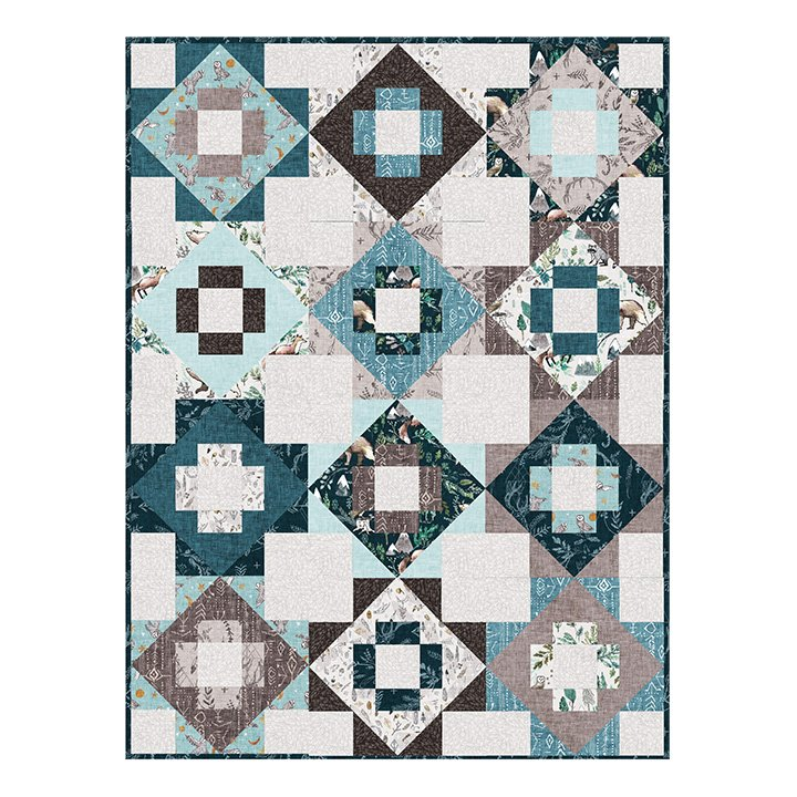 Forest Fable Meadowland Quilt Kit