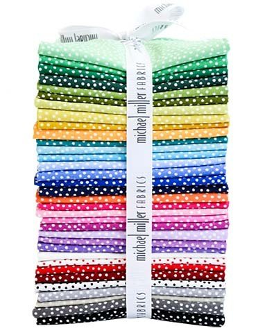 Garden Pindot Fat Quarter Bundle (36 pcs)