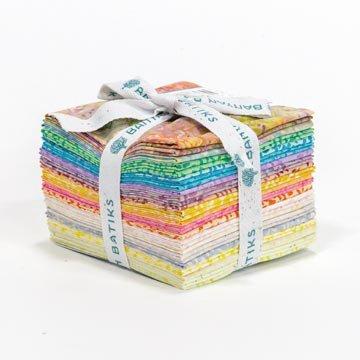 Ketan Batiks Fat Quarter Stack - Sugar Sprinkles (20 pcs)