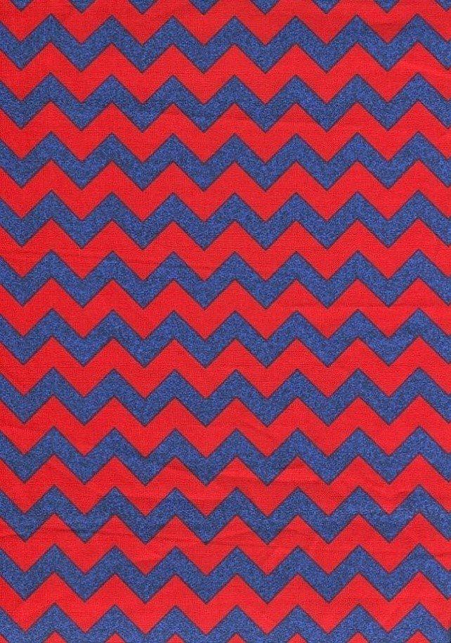 Barnegat Bay - Chevron - Red/Blue