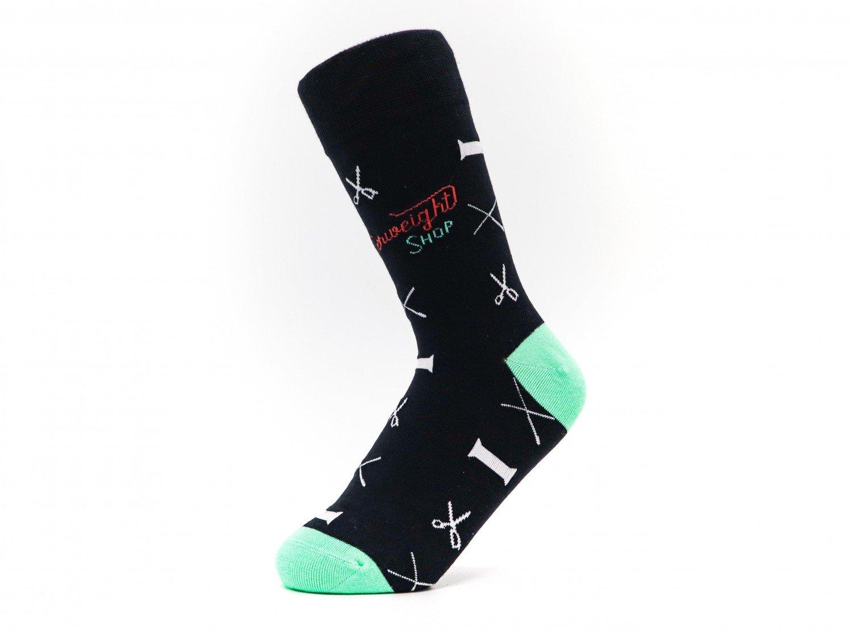 Quilt Socks - Notions - Black