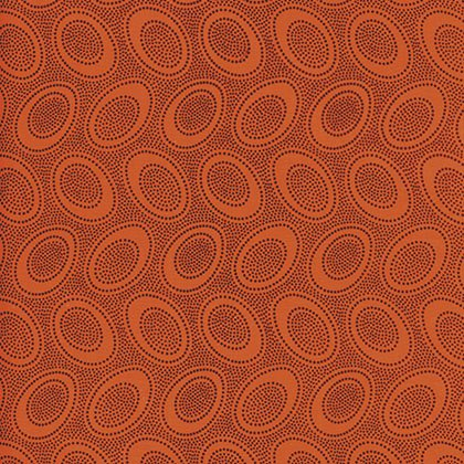 Aboriginal Dot - Orange