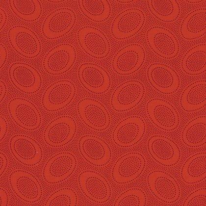 Aboriginal Dot - Red