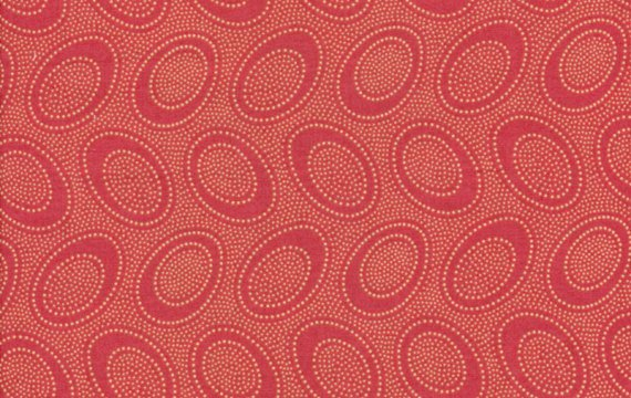 Aboriginal Dot - Terracotta